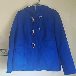 Blue old navy pea coat